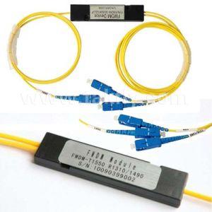FTTH/CATV Wdmフィルター1310nm/1490nm/1550nm光ファイバFwdm