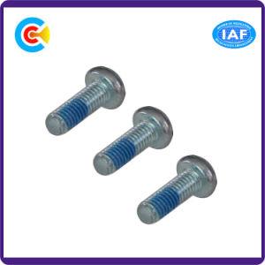 Aço inoxidável/M2.3 Galvanizado Flower/Cinquefoil Parafusos de Cabeça Chata fixadores com a coluna