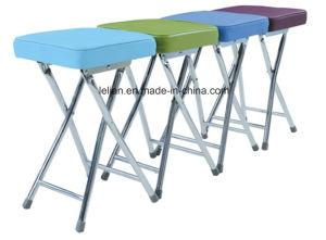 Piccolo sgabello accatastabile rotondo e quadrato economico per mobilia domestica (LL-0019)