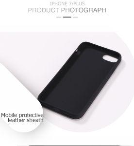 Atóxico de silicona de alta calidad negro Funda de teléfono celular