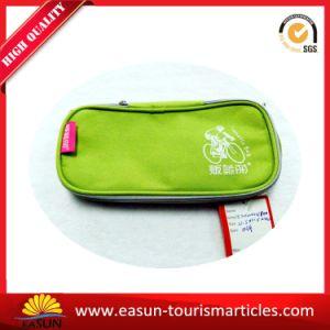 Sacchetto cosmetico di colore della tela di canapa su ordinazione dello spazio in bianco da vendere