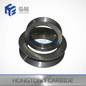 Roue de rouleau de carbure de tungstène personnalisé pour l'acier
