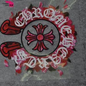 의복에 최신 Adhisive가 귀여운 디자인 의류 열전달에 의하여 레테르를 붙인다