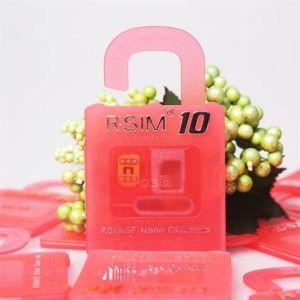 Novo Cartão de desbloqueio de chegada R 10 SIM para o IP6 Plus/6