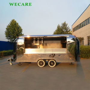 Fast Foodのための電気Mobile Stainless Steel Food Truck