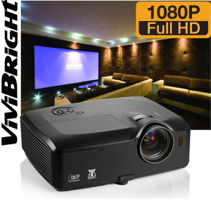 Vollkommenes Full HD, Amazing Color Performance und Hohes-Definition Picture Quality Vivibright Projector Prf8200