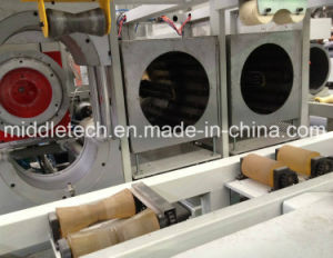 Horno simple/doble tubería de PVC Belling plástico Máquina/Engaste que hace la máquina