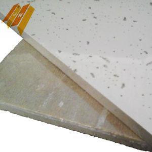 Techo de tela de fibra mineral acústico Panel (603*603mm, clase A)