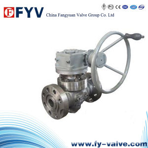 API 6D ForgedかCast Steel Top Entry Trunnion Ball Valve
