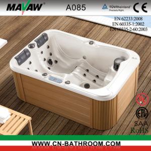 Mini Three-Person económica bañera caliente (A085)