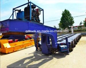 Reboque de veículos pesados/ multi-eixo reboque lowbed modular