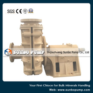Pompa resistente centrifuga orizzontale dei residui per la miniera di oro