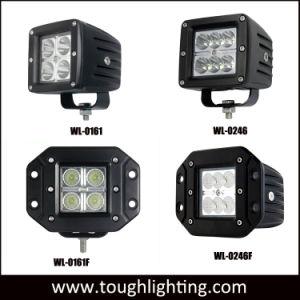 Luzes de trilhas 5 Polegada Square 48W LED CREE Luzes traseira do veículo