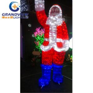 AcrylCrystal Weihnachtsmann Lighting für Christmas Decoration mit CER RoHS