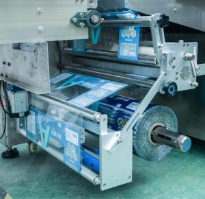 Automatische Frischgemüse-Frucht-Brot-Kerze-Verpackungsmaschine
