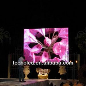 P Affichage LED RVB7.62 Indoor Advertisng de panneaux d'affichage vidéo LED