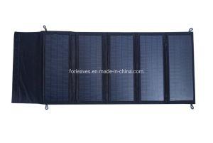 Celda de Sunpower 80W de potencia portátil Cargador Panel Solar de doble puerto USB para acampar/barco/AP/Viajes/Home Alquiler de Kits de paneles solares