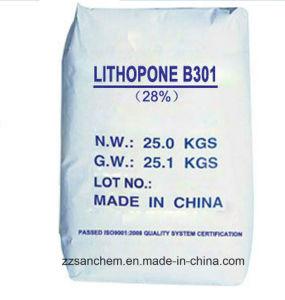 Het Pigment van chemische producten in Verf van Lithopoon 30% die B301, B311 wordt gebruikt