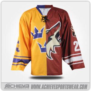 Il nuovo modo ha personalizzato il pullover sublimato del hokey di ghiaccio
