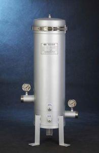 Singolo alloggiamento del filtro a sacco del V-Morsetto, soluzione dell'acqua dello stagno (TC-VS)