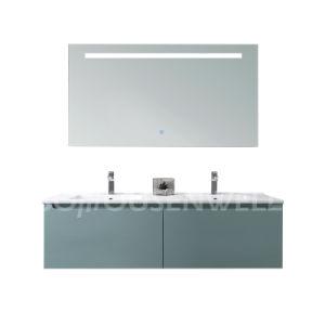 Casa de banho de luxo moderno Combo de toucador Lavatório duplo armário de toucador
