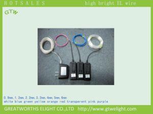 Эль-Лампа провод Portable (электро-люминесцентные) провод от батареи