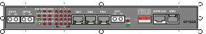 光ファイバーの多重交換装置へのギガビットのイーサネットそして16 E1s