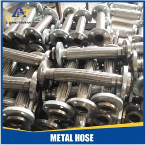 Tubo flessibile Braided flessibile del pasto dell'acciaio inossidabile con la flangia in Cina