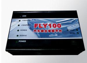 OBD2 SANNER OBD2 의 EOBD FLY100 스캐너, FLY100 진단 기구, Honda 중요한 제작자, Fly100 자동 검사자를 위한 Fly100, HONDA를 위한 FLY100 스캐너 자물쇠 제조공 버전