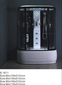 Cabina de ducha/aseo con ducha y ducha de alojamiento (S-1606)