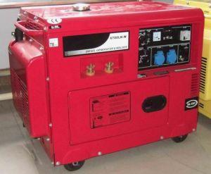 Generador y Soldadura Diesel Doble Uso (GP6500LXB-W)