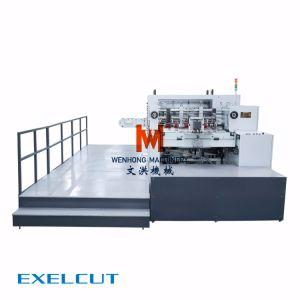 高性能Exelcut 1650のシリーズAutoamticの型抜き機械