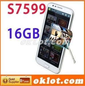 16 GB de ROM Star S7599 Mtk6589 IPS de cuatro núcleos de 5,7 pulgadas de 1280x720 1GB de RAM Android 4.2 Dual SIM 3G Smartphone