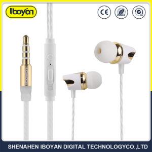 Auriculares com fios de desporto Noise-Cancelling fones de ouvido para celular