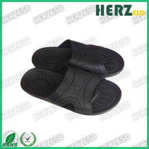 정전기 방지 ESD 전도성 청정실 PVC 거품 남녀 공통 슬리퍼