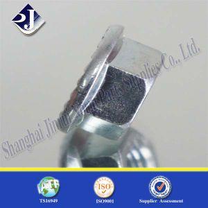 Noix Hex de bride de qualité supérieur avec le zinc bleu 3+