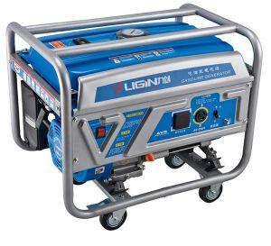 Generator van de Benzine van de Generator van de Benzine van de Motor van het Koper van 100% de Elektrische 7kw 380V
