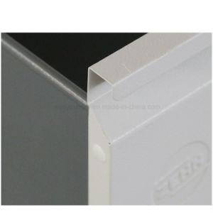 Design elegante 3 Extensão Total de metal da gaveta mesa de cabeceira seguro utilizar o Armário para armazenamento de arquivos de aço com bloqueio