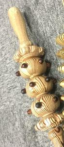 Cuerpo Sano de alta calidad de rodillos de masaje de madera de madera