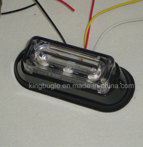 3W Waterproof LED Warning Plattform Light (SL623-S Green)