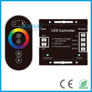Toque no telecomando RF tira de LED RGB de luzes Controller