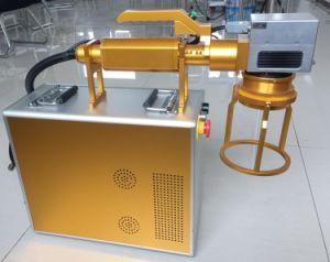 Portátil equipos motorizados de fibra de marcado de metal / Nonmental