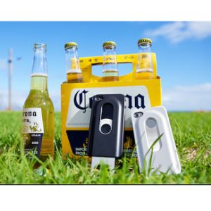 iPhone 6のための卸し売り機能ビール瓶のオープナの携帯電話の箱