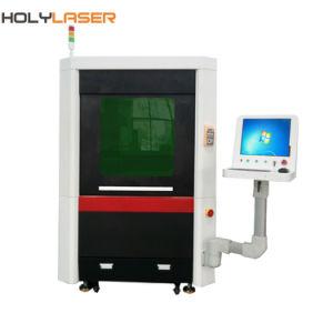 Mini-machine de découpage au laser à filtre de haute précision de la vis de broyage pour le métal