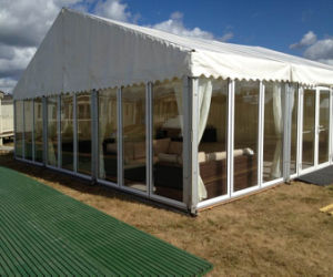 Открытый большой алюминиевая рамка свадебное выставки церкви палатку в рамке