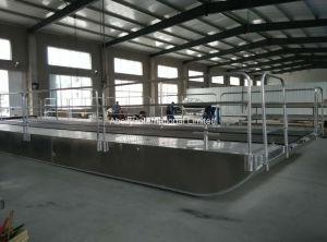 Алюминий баржа судно/транспортное судно/посадки судов/алюминиевый понтонный мост