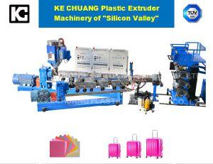 Les bagages de décisions de la machine de l'extrudeuse de recyclage du plastique