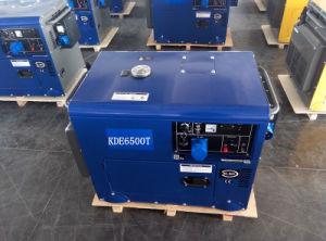 AC Single Phase 50Hz/4.2kw Silent Diesel Generator met ATS Design voor Zuid-Afrika