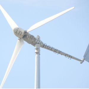 Faible vitesse de démarrage Mini générateur de puissance du vent, génératrice éolienne de 1 kw pour les petites Accueil
