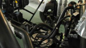 Het hete Bevorderen assembleerde volledig 2 Zetels schuurt Chassis Met fouten